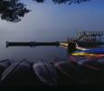 early-morning-canoe-dock